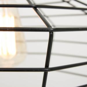 Lampe industrielle noire