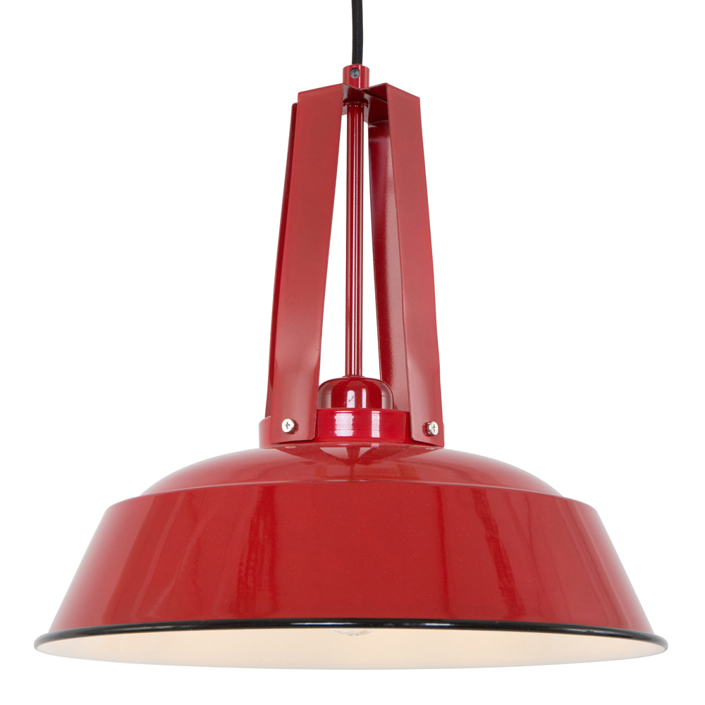 Lampadaire industriel rouge - Luminaire industriel la giant collection par anglepoise ...