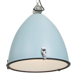 lampe industrielle bleu