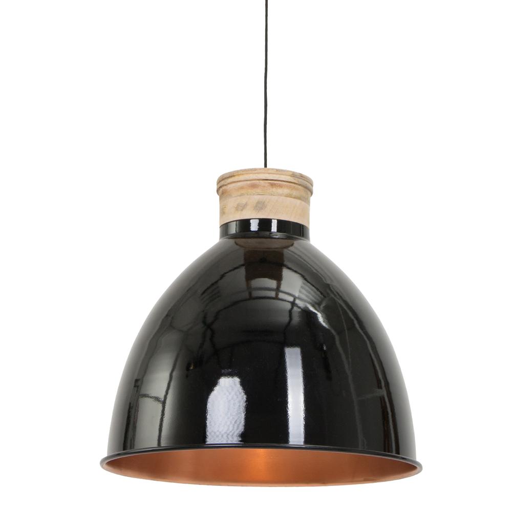 Lampe suspendue scandinave jetvik 42 cm noire - Lampe suspendue industrielle ...