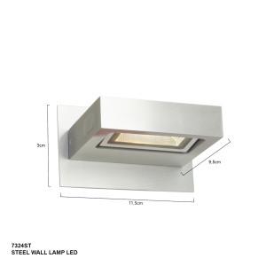 lampe industrielle acier