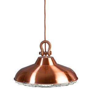 lampe industrielle cuivre