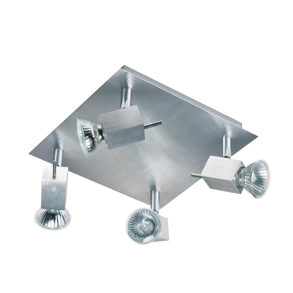 Plafonnier industriel strasano 4 lumi res for Plafonnier industriel