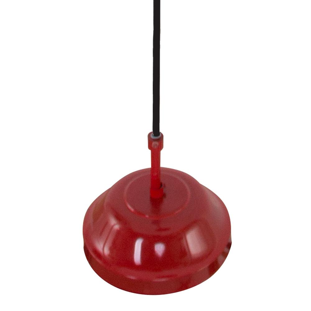 suspension-industrielle-rouge