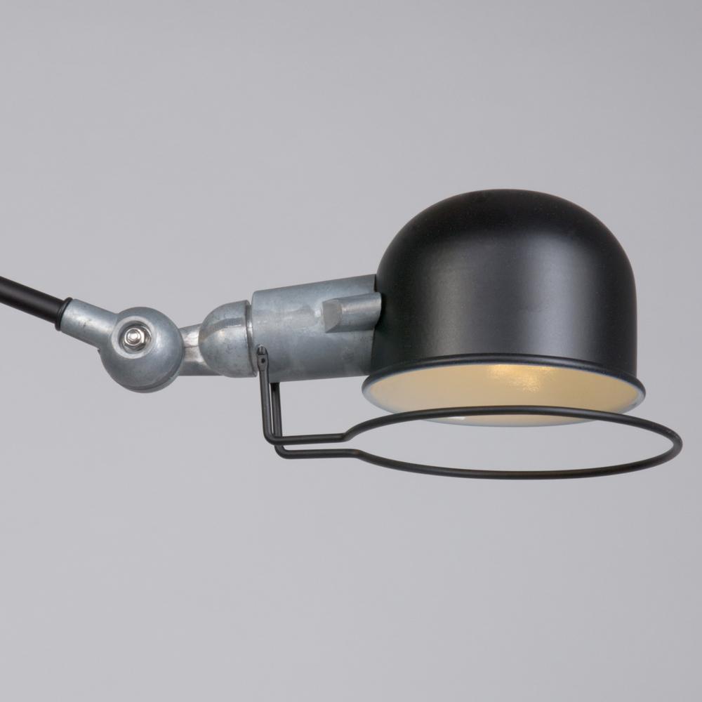 lampe murale industrielle noire jip. Black Bedroom Furniture Sets. Home Design Ideas