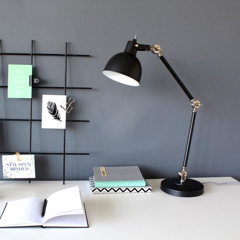 lampe de table industriel