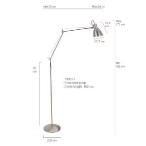 lampe industriel acier