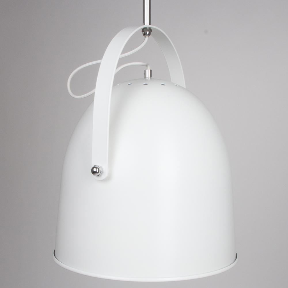 Lampe industrielle derby blanche 35 cm - Lampe industrielle ...