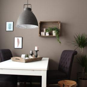 lampe industrielle grise