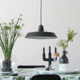 lampe industrielle noir