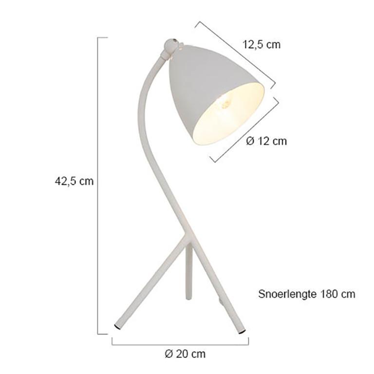 lampe de table blanc