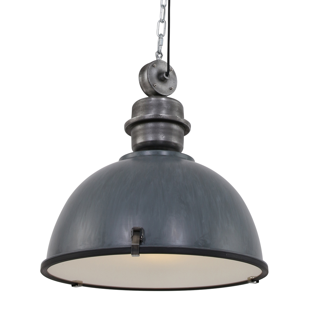 Lampe industrielle unique c ur xl grisonne 52 cm lampe industrielle - Lampe suspension industrielle ...