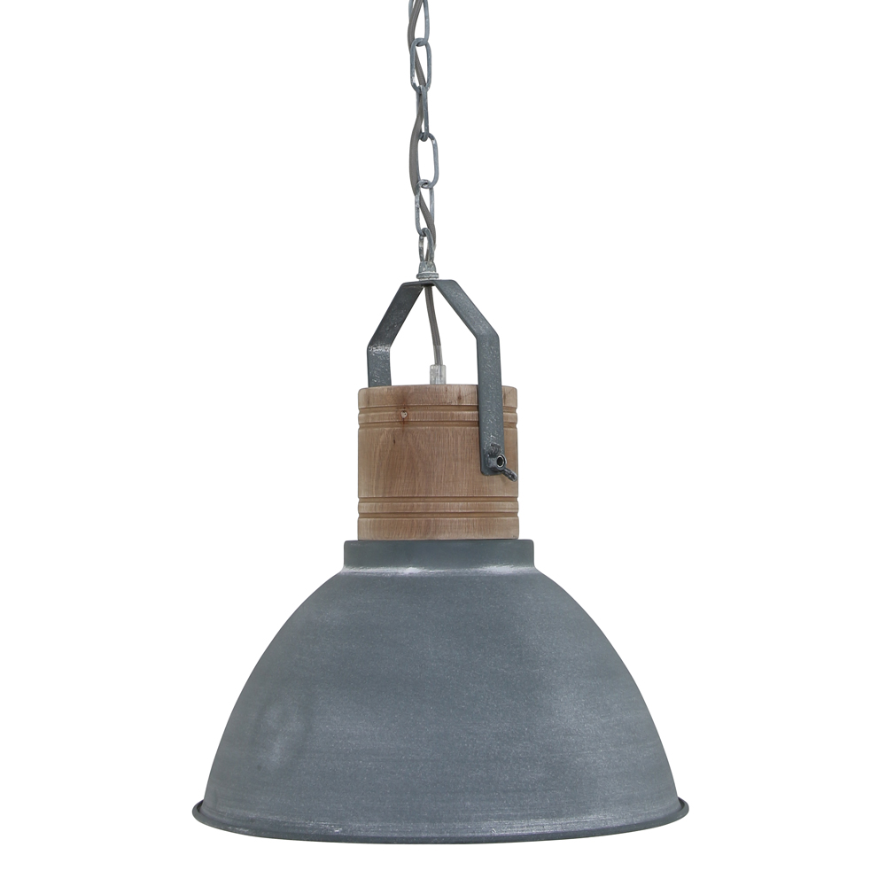 Fabulous Suspension industrielle scandinave Droit grise - Lampe industrielle PD22