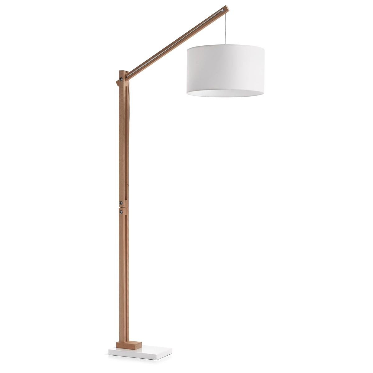 Stehlampe Holz Lampe Industrielle