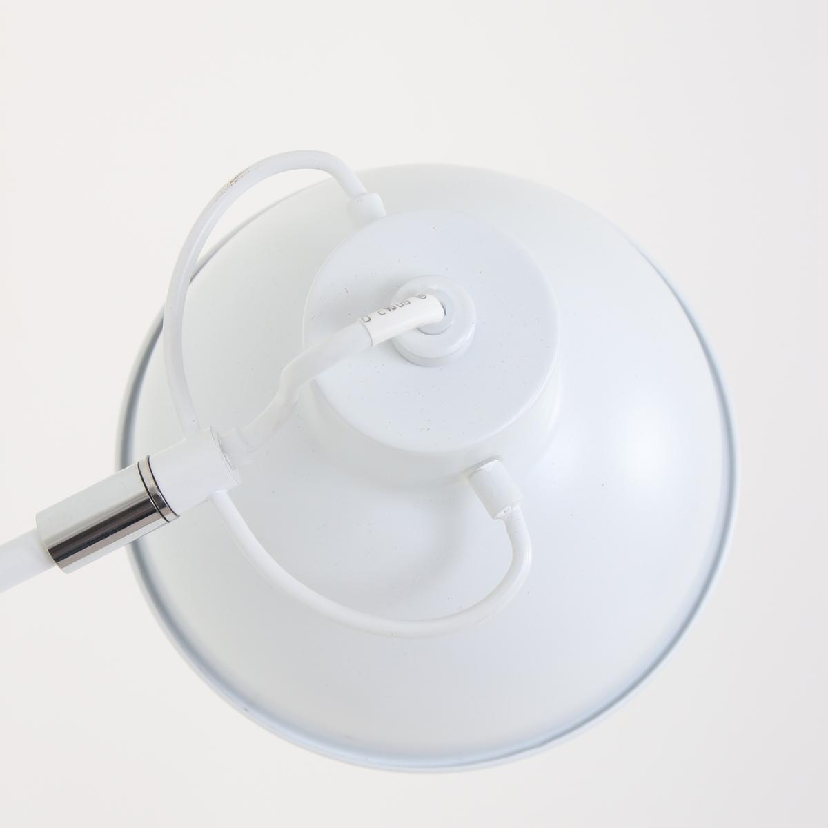 applique murale blanc alexa 16 cm lampe industrielle. Black Bedroom Furniture Sets. Home Design Ideas