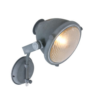 Applique Murale Industrielle Gris Kenny Lampe Industrielle