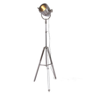 Lampadaire chrome