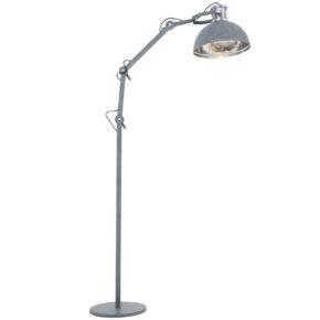 Lampadaire industrielle gris
