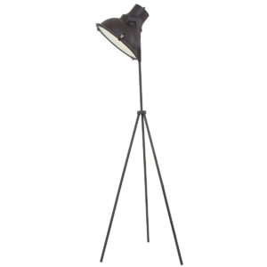 Lampadaire industrielle marron