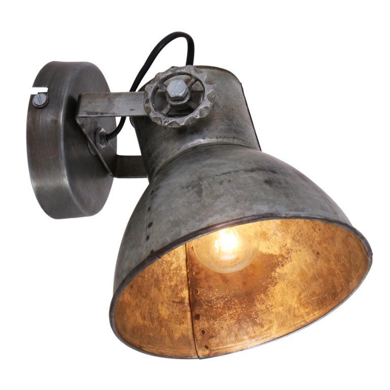 Lampe de table industrielle acier