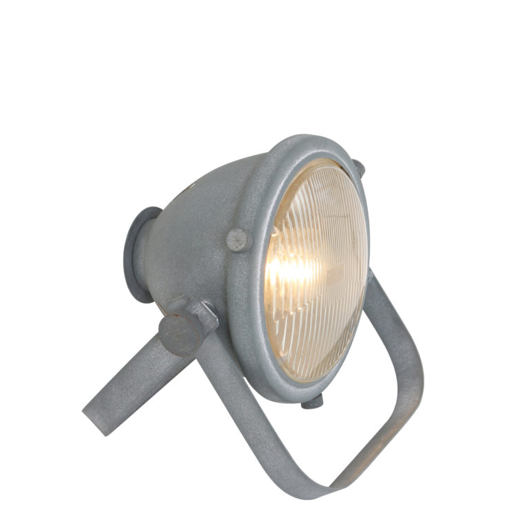 Lampe de table industrielle gris