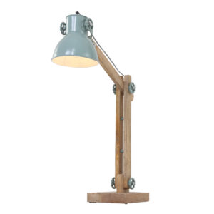 Lampe de table industrielle marron
